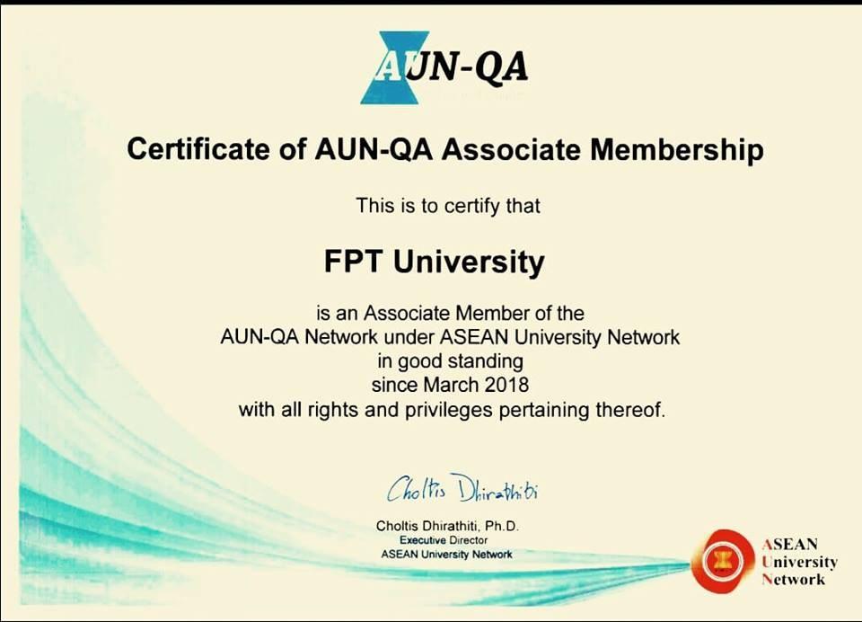 Đại học FPT chính thức trở thành thành viên liên kết AUN – QA